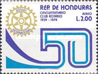 [Airmail - The 50th Anniversary of Tegucigalpa Rotary Club, Typ NH3]