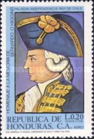 [Airmail - Bernardo O'Higgins Commemoration, type OC]