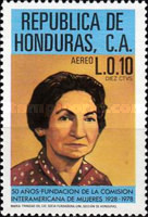 [Airmail - The 50th Anniversary of Inter-American Women's Commission, type OG]