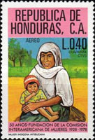 [Airmail - The 50th Anniversary of Inter-American Women's Commission, type OH]