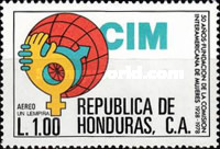 [Airmail - The 50th Anniversary of Inter-American Women's Commission, type OI]