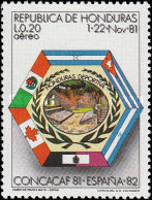 [Airmail - Football World Cup - Preliminary Round, Typ OJ]