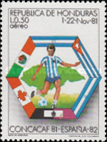 [Airmail - Football World Cup - Preliminary Round, Typ OK]
