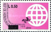 [Airmail - Previous Issues Surcharged, Typ OO1]