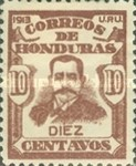 [General Terencio Sierra and General Manuel Bonilla - Stamps of 1913 in New Colors, type P7]
