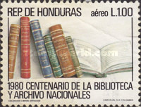 [Airmail - The 100th Anniversary of National Library and Archives, 1980, type PA]