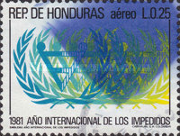 [Airmail - International Year of Disabled Persons, type PB]