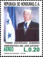 [Airmail - The 1st Anniversary of Democratic Government, Typ PQ]