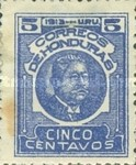 [General Terencio Sierra and General Manuel Bonilla - Stamps of 1913 in New Colors, type Q7]