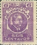 [General Terencio Sierra and General Manuel Bonilla - Stamps of 1913 in New Colors, type Q8]