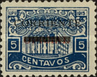 [Ulua Bridge Stamp of 1915 Overprinted