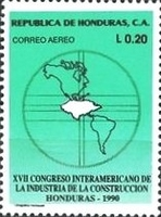 [Airmail - The 30th Anniversary and 17th Congress of Inter-American Construction Industry Federation, type RA]