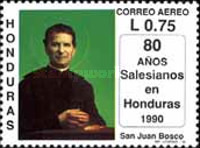 [Airmail - The 80th Anniversary of Salesian Brothers in Honduras, type RE]