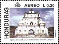 [Airmail - Churches, type RW]