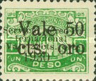 [Airmail - Bonilla National Theatre - Stamp of 1915 Surcharged, type S10]