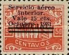 [Airmail - Official Stamps of 1915-1929 Overprinted and Surcharged New Value, type S25]