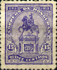 [Francisco Morazan Monument - Stamp of 1919 with New Color, type U9]