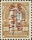 [Airmail - Bust of Dionisio de Herrera -  Stamps of 1930 Surcharged
