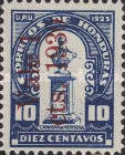 [Bust of Dionisio de Herrera - Stamps of 1924 Surcharged, Typ X15]