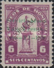[Airmail - Official Stamp of 1924 Surcharged