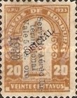 [Airmail - Bust of Dionisio de Herrera - Official Stamps of 1924 Surcharged, Typ X40]