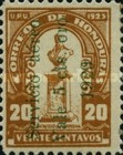 [Airmail - Bust of Dionisio de Herrera - Stamps of 1924 Surcharged