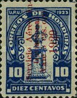 [Airmail - Bust of Dionisio de Herrera - Stamps of 1924 Overprinted and Surcharged, type X8]
