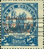 [Airmail - Official Stamps of 1929 Overprinted
