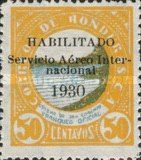 [Airmail - Official Stamp of 1929 Overprinted