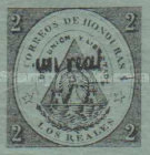 [No. 1 & 2 Surcharged - Tegucigalpa Issue, without Frame, type XXC2]