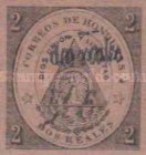 [No. 1 & 2 Surcharged - Tegucigalpa Issue, without Frame, type XXC6]