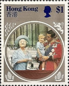 [The 85th Anniversary of the Birth of Queen Elizabeth The Queen Mother, 1900-2002, Typ KF]