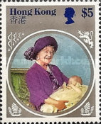 [The 85th Anniversary of the Birth of Queen Elizabeth The Queen Mother, 1900-2002, Typ KH]
