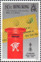 [The 150th Anniversary of Hong Kong Post Office, Typ QF]