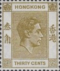 [King George VI - Different Perforation, Typ T17]