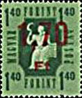 [Postage Stamp Overprinted, Typ A]