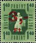 [Postage Stamp Overprinted, Typ A2]