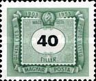 [The 50th Anniversary of Hungarian Postage Due Stamps, Typ U11]