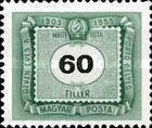 [The 50th Anniversary of Hungarian Postage Due Stamps, Typ U13]