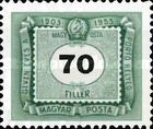 [The 50th Anniversary of Hungarian Postage Due Stamps, Typ U14]