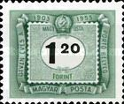 [The 50th Anniversary of Hungarian Postage Due Stamps, Typ U16]