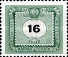[The 50th Anniversary of Hungarian Postage Due Stamps, Typ U6]