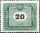 [The 50th Anniversary of Hungarian Postage Due Stamps, Typ U7]