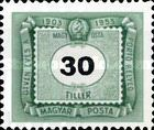 [The 50th Anniversary of Hungarian Postage Due Stamps, Typ U9]