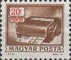[Postage Due Stamps, Typ X]