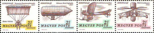 [International Airmail Stamps Exhibition AEROFILA `67, type ]