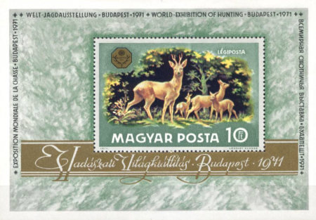 [Airmail - Wildlife - Hunting Exhibition, Typ ]