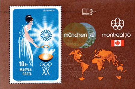 [Olympic Games - Munich and Montreal, Typ ]