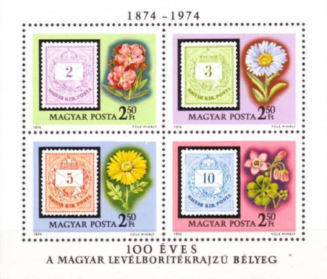 [The 100th Anniversary of the First Issue of Stamps