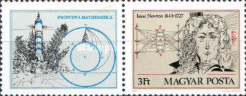 [The 250th Anniversary of the Death of Isaac Newton, 1643-1727, Typ ]
